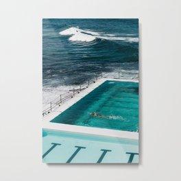 Bondi Icebergs Club I art print Metal Print