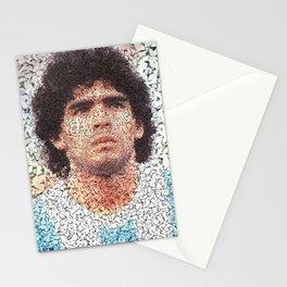 Homage to Maradona  Stationery Cards