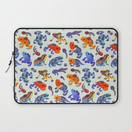 Poison dart frogs - bright Laptop Sleeve