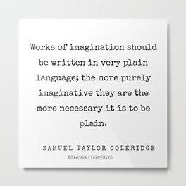 23     | Samuel Taylor Coleridge Poems | 200207 Metal Print