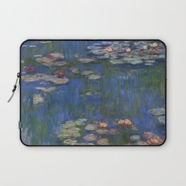 WATER LILIES - CLAUDE MONET Laptop Sleeve
