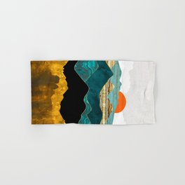Turquoise Vista Hand & Bath Towel
