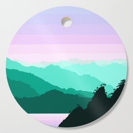 Mountain Landscape Cutting Board