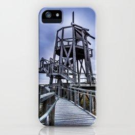 Observation Tower - Great Salt Lake Shorelands Preserve - Utah iPhone Case