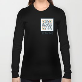 Magic Moon Designs QR Code Long Sleeve T-shirt