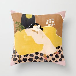 Big Things Are Coming My Way Throw Pillow