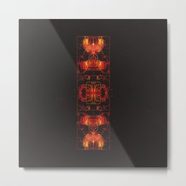 DAY 341: THERMAL THROTTLE AWARENESS DAY Metal Print