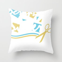 Scrapbooking Handicrafts Hobby Photos Gift Scrap Throw Pillow
