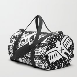 Keith Haring - The marriage of heaven and hell Duffle Bag