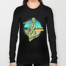 Greetings from the Black Lagoon Long Sleeve T-shirt