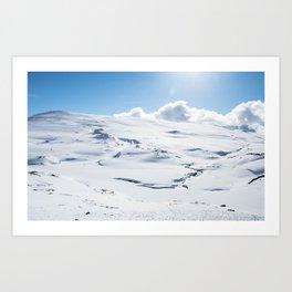 Hardangervidda Art Print