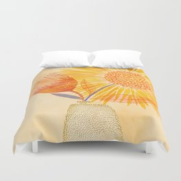 Tuesday Afternoon Sunflowers Duvet Cover