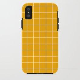 Marigold Grid iPhone Case