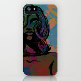 To Be Female iPhone Case