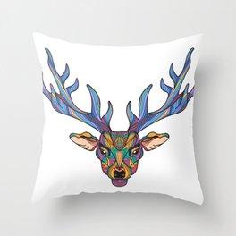 Deer Park- MI Throw Pillow