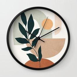 Soft Shapes IV Wall Clock