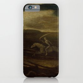 The Race Track (Death on a Pale Horse) by Albert Pinkham Ryder iPhone Case
