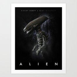 Alien 'Polymer Poster' Art Print