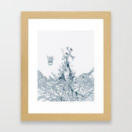 The Witch's Hand Framed Art Print