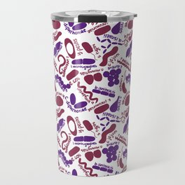 Gram Stain - Labeled Travel Mug