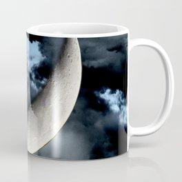 Angel Cherub Child Moon Blue Child's Room Art A542 Coffee Mug