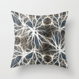 Neurons Cell Healthy Throw Pillow