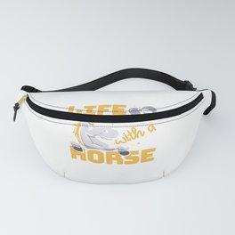 Horse Horseback Rider Horseman Equestrian Fanny Pack