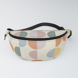 Pastel Geometric Shapes #1 Fanny Pack