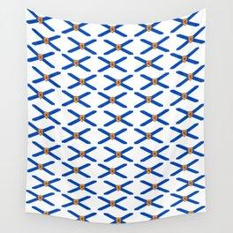 flag of nova scotia- nova scotian,bluenoser,halifax,cape breton,nueva escocia,nouvelle écosse. Wall Tapestry