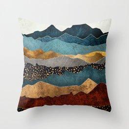 Amber Dusk Throw Pillow