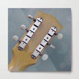 Bokah Guitar Metal Print