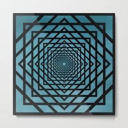 Eternally Blue Metal Print