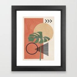 Nature Geometry I Framed Art Print
