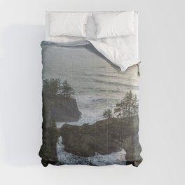 Natural Bridges Before Sunset Comforters