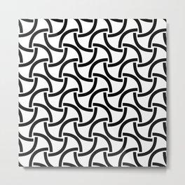 monochrome 99 Metal Print