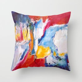 Come Down Isaiah 64 Christian Abstract Throw Pillow