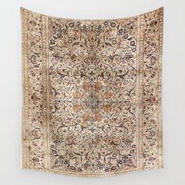 Silk Esfahan Persian Carpet Print Wall Tapestry