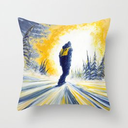 Light Chaser Throw Pillow