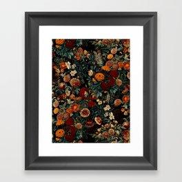 EXOTIC GARDEN - NIGHT XXI Framed Art Print