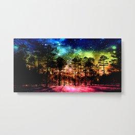 One Magical Night ( Rainbow ) Metal Print