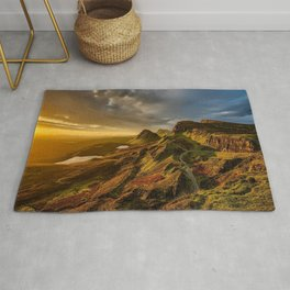 Scotland Landscape Mountains Rug