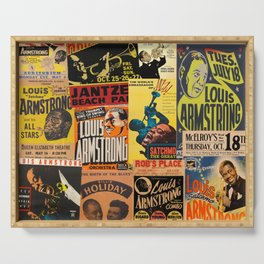 Louis Armstrong Serving Tray