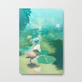 A River of Living Water Metal Print