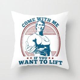 Arnold Throw Pillow