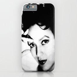 dorothy dandridge black & white photo iPhone Case