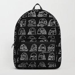 Many helmets Backpack