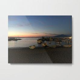 Sorrento Coast at Sunset 2 Metal Print