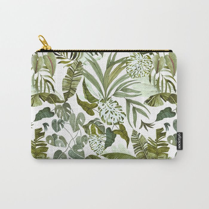 Wild botany in the jungle Carry-All Pouch