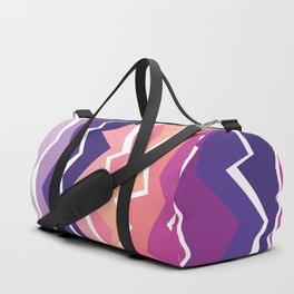 80s Zigzag 2 Duffle Bag