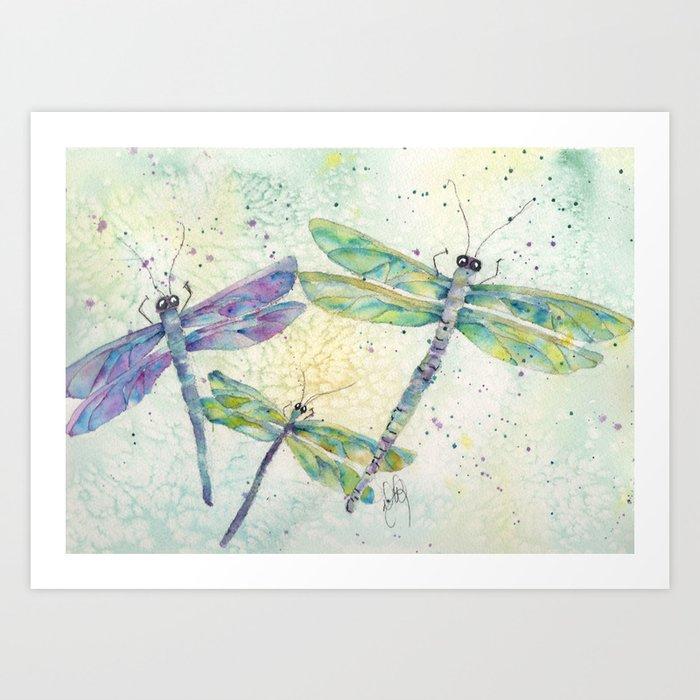 Xena's Dragonfly Kunstdrucke